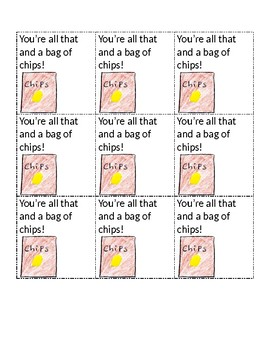 Test Snack Cards