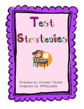 Test Strategies Booklet for Reading