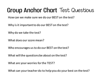 Test Strategies and