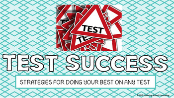 Test Success or Stress Lesson and Sorting Game