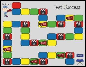 Test Taking Board Game- Savvy School Counselor