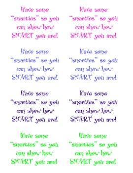Test Taking Encouragement Notes