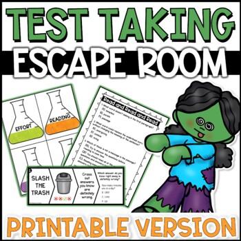 Test Taking Escape Room