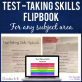 Test-Taking Skills Flipbook