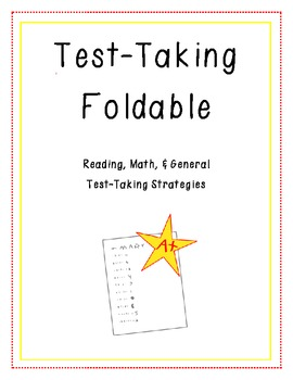 Test Taking Foldable