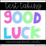 Test Taking Good Luck Cards