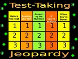 Test Taking Jeopardy Game
