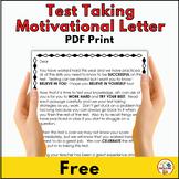 Test Taking Motivational Letter