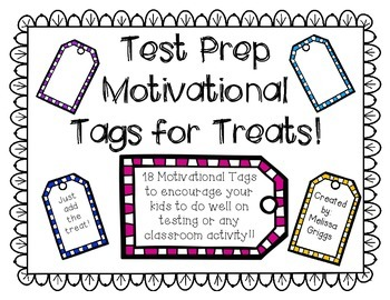 Test Taking Motivational Tags