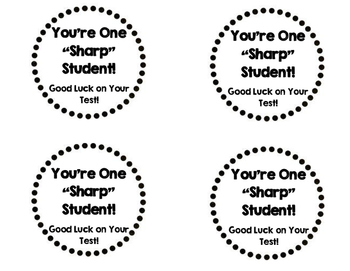 Test Taking Pencil Toppers Printable By Maggie Patterson Tpt