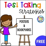 Test Taking Posters and Bookmarks {FREEBIE}