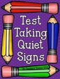 Test Taking Quiet Signs