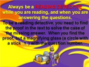 Test Taking Reading Strategies Powerpoint