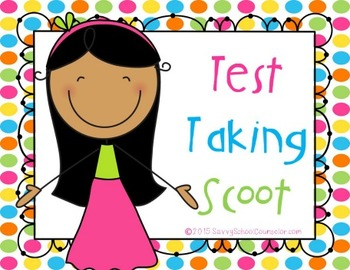 Test Taking Scoot - Savvy School Counselor