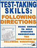 Test-Taking Skills: Following Directions ($2)