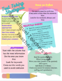 Test Taking Skills Strategy Posters or Handouts SBAC State