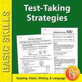 Test Taking Strategies & Tips for Reading, Math, Language & More!