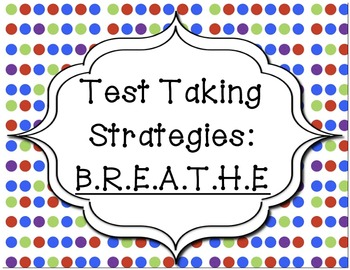 essays on test taking strategies