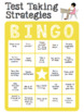 Test Taking Strategies Bingo (small group version)