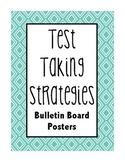 Test Taking Strategies Bulletin Board posters