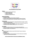 Test Taking Strategies Checklist