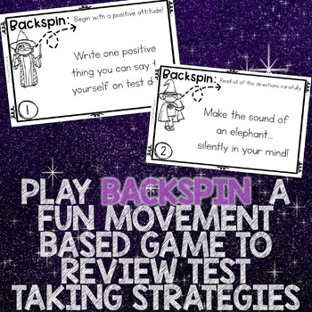 Test Taking Strategies Classroom Guidance Lesson with Test Taking Skills Game