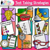 Test Taking Strategies Clip Art {9 Strategies to Reduce An