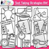 Test Taking Strategies Clip Art {Great for Worksheets & Ha