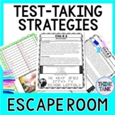 Test Taking Strategies ESCAPE ROOM - Test Prep for ALL subjects!