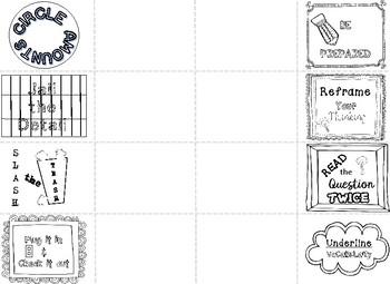Test Taking Strategies Foldable