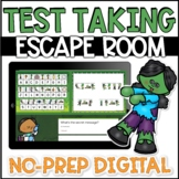 Test Taking Strategies Lesson Escape Room DIGITAL In Person or Distance Learning
