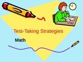 Test-Taking Strategies: Math
