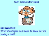 Test-Taking Strategies: Multiple Choice and Open-Ended Responses