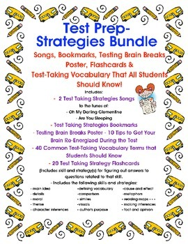 Test Prep- Test Taking Strategies Bundle