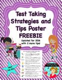 FREE Test Taking Strategies Poster ~ 8 tips