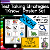 Test Taking Strategies Poster Set-iKnow Tablet Version
