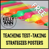 Test Taking Strategies Posters