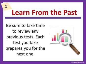 Test Taking Strategies PowerPoint