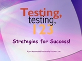 Study Skills: Test Taking Strategies PowerPoint Presentation