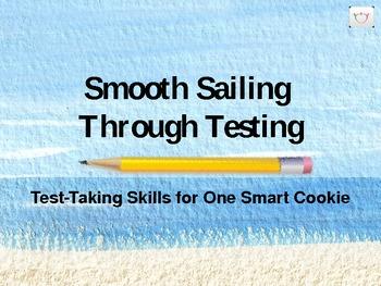"Test-Taking Strategies PowerPoint ""Smooth Sailing Through Testing"""