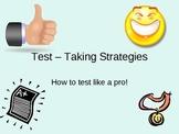Test-Taking Strategies Slide Show