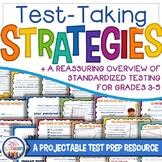 Test Taking Strategies Slideshow   Test Prep Skills & Reassurance Grades 3-5