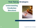 Test Taking Strategies Vocabulary Power Point