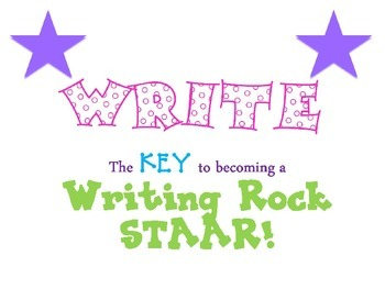 STAAR Writing Test Taking Strategies Posters