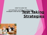 Test Taking Strategies PPT for math AND English a PowerPoint