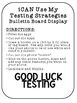 Test Taking Strategies iPhone Bulletin Board