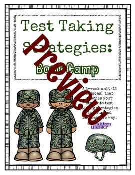 Test Taking Strategy Boot Camp