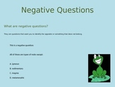 Test Taking Strategy: Negative Questions