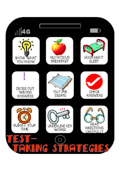 Test Taking Strategy Poster