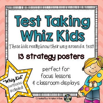 Test Taking Strategy Posters